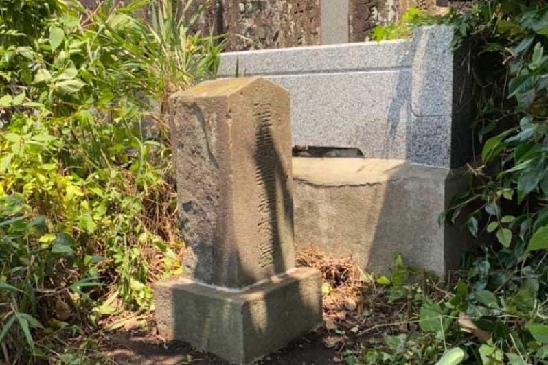 後藤裏梅の墓